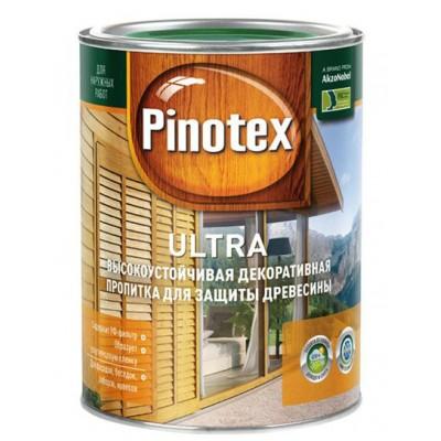 Краска Pinotex ultra орех 1л
