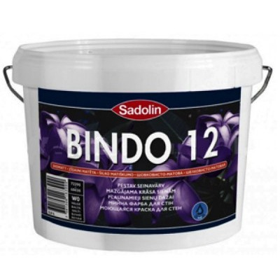 Краска Sadolin BINDO 12 W0 10л
