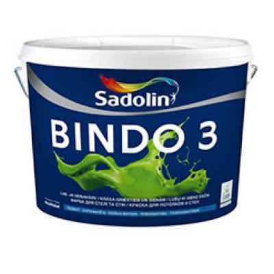 Краска Sadolin BINDO 3 WO 2,5л
