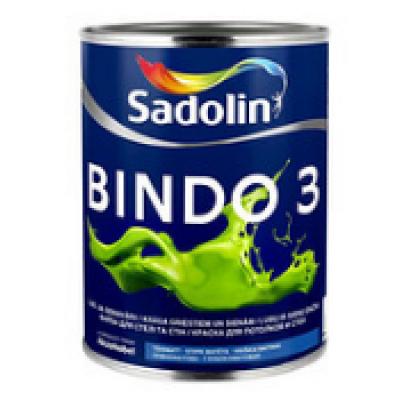 Краска BINDO 3 WO 1л